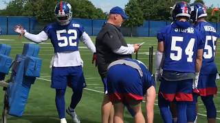 Giants defense practicing to return to Big Blue standards