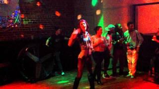Gina Ariel Wilde @ Glo Ultralounge Valdosta, Ga. Burnin' Up by Jessie J