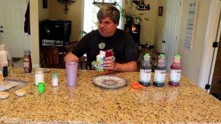 Soda syrups
