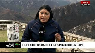 Firefighters battle fires in Southern Cape