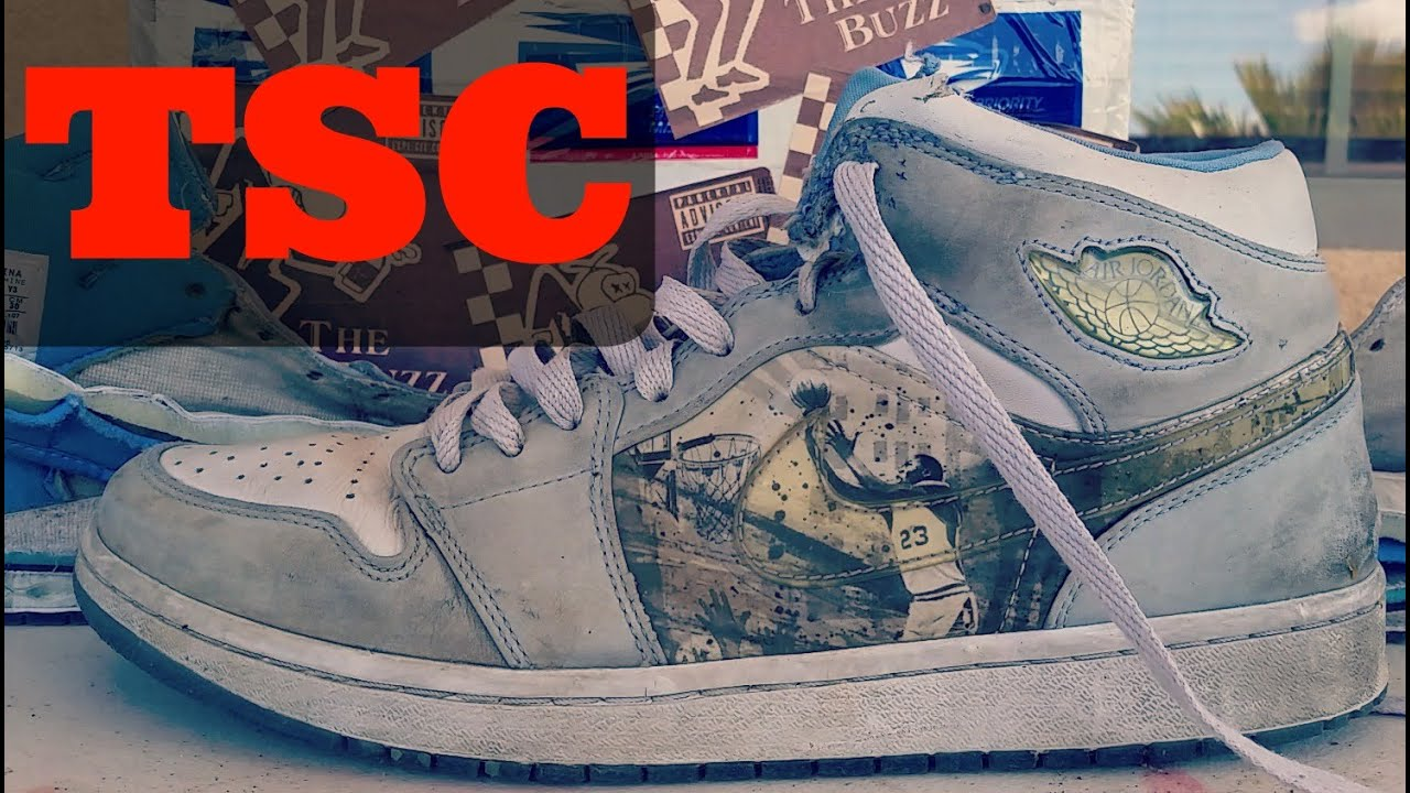 bcf975063820 The Sneaker Chop NIKE AIR JORDAN 1 - YouTube
