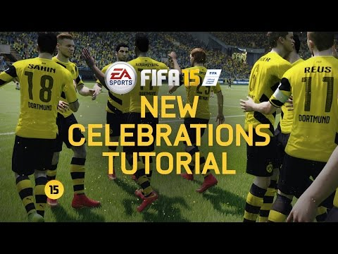 FIFA 15 - New Celebrations Tutorial