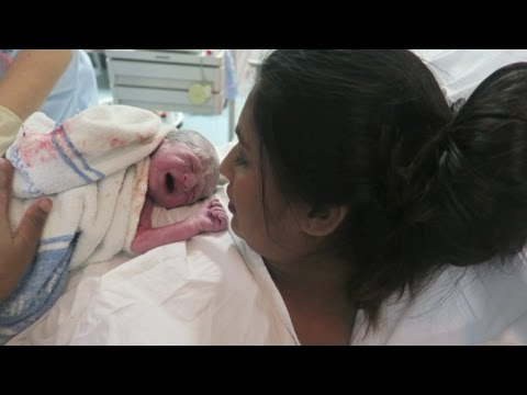 MEET ISAAC | SHORT LABOR & DELIVERY VLOG!!!