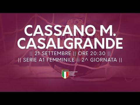 Serie A1F [2^]: Cassano Magnago - Casalgrande 24-24