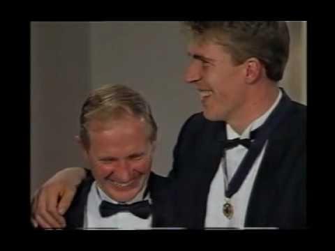 1991 AFL Brownlow medal Jim Stynes wins Melbourne FC