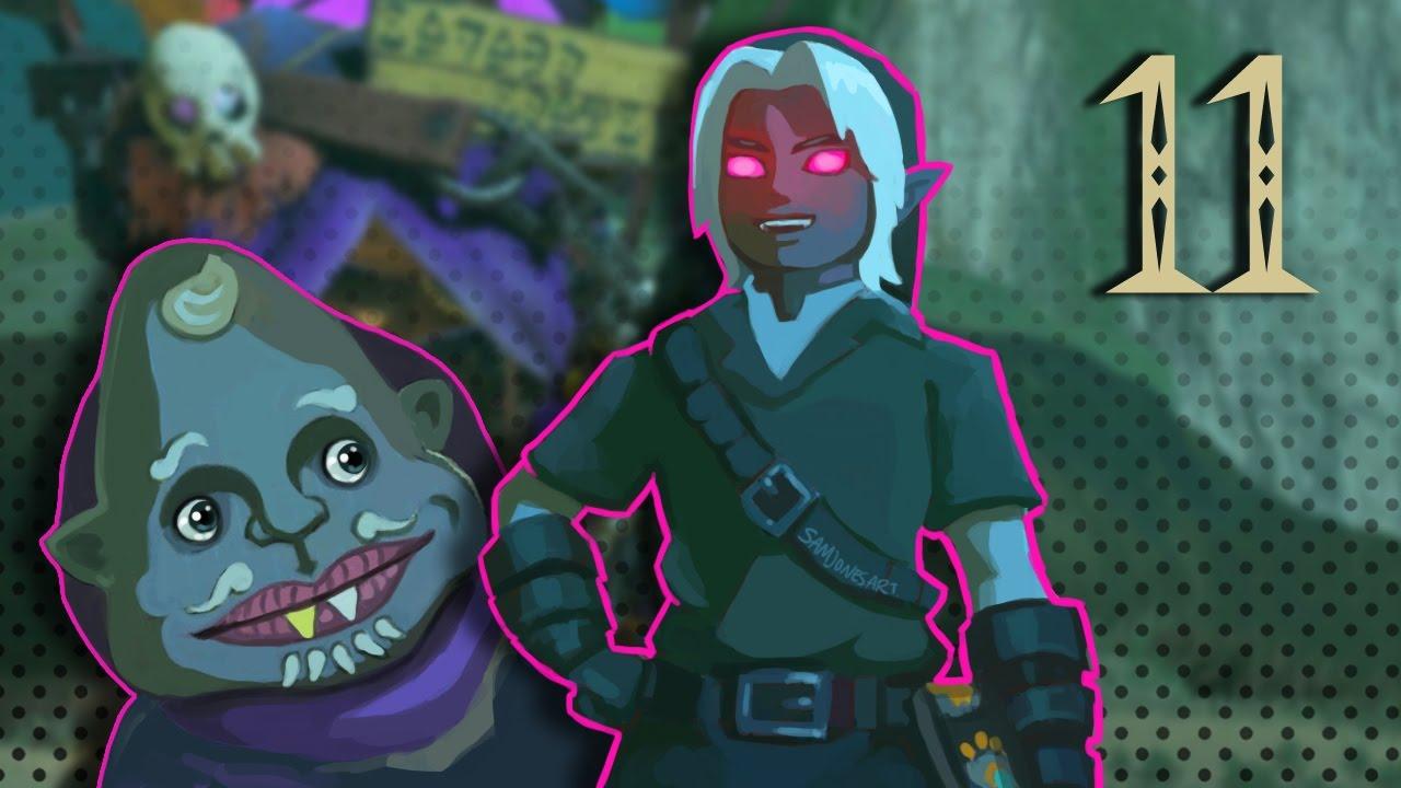 Basicallyiplay Legend Of Zelda Botw 11 Dark Link Armor Kilton Link S House