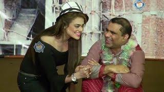 Qaiser Piya | Tahir Anjum and Sobia Khan - New Stage Drama Dugdugi Full Comedy Clip 2019