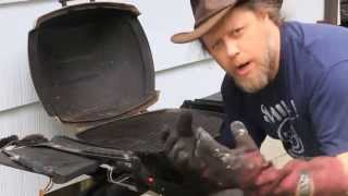 Restoring Weber Q 200 For The Bbq Season 2013 At The Farmhouse With Jimbo Jitsu Diy How To