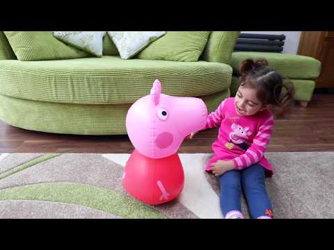 Thumbnail: Hide and Seek with Peppa Pig \ Giant Surprise Walking and Muddy Puddles
