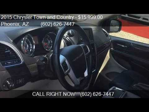 2015 chrysler town and country touring 4dr mini van for sale youtube. Black Bedroom Furniture Sets. Home Design Ideas
