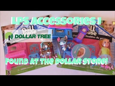 LPS Accessories I Found At The Dollar Store! Part 3
