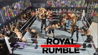 WWE Royal Rumble 2017 Full Match Predictions | WWE Figures