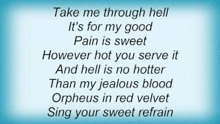 Marc Almond - Orpheus In Red Velvet Lyrics