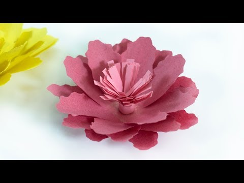How to make a paper Carnations | Paper Flowers | DIY Flowers | Home Decor