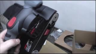 Ленточная шлифовальная машинка Skil 1215 LA небольшой обзор