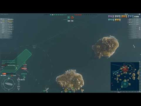 World of Warships 1 hour of gameplay - Zuiho - No comments.