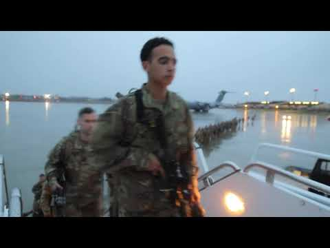 U.S. Immediate Response Force Deploys FORT BRAGG, NC, UNITED STATES 01.04.2020