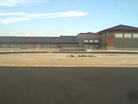 Tour of exterior of Wahitis Elementary School - Othello, WA by Brian Gentry