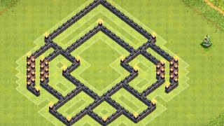 Clash of Clans - BEST TH7 TROPHY PUSH/WAR BASE SPEED BUILD WITH NEW DEFENSE AIR SWEEPER