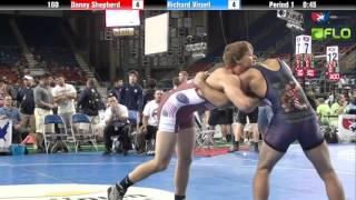 Junior 160 - Danny Shepherd (Utah) vs. Richard Viruet (Massachusetts)