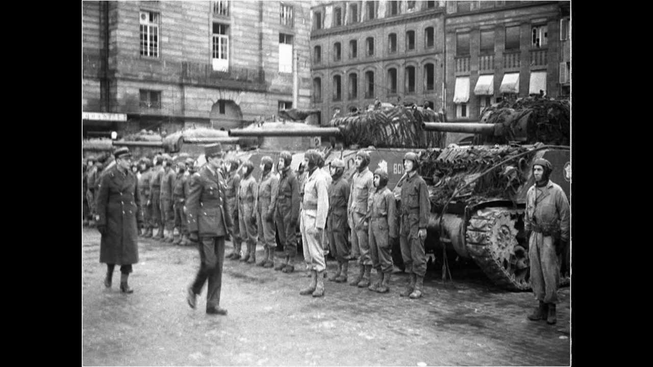 Libération de Strasbourg le 23 novembre 1944 - YouTube
