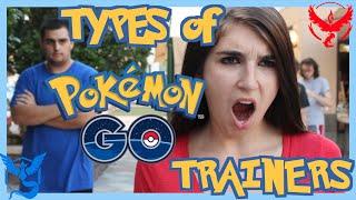 Types of Pokemon GO Players