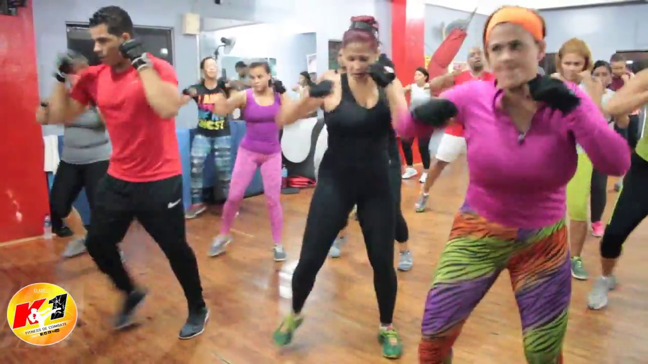 Cardio Kick Boxing - Stay Young Edit para K1 Fitness Mix Para Combate