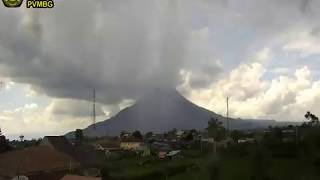 21/3/2018 - Mt Sinabung TimeLapse