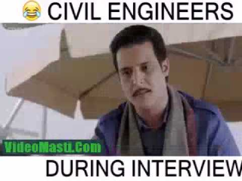 6ba7d817 Civil engineer funny interview - YouTube
