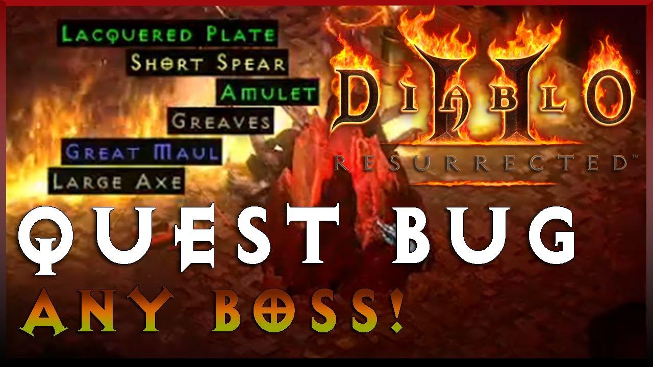 Insane Single Stream Luck  I Finally Found It   Diablo 2 Resurrected