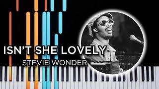 Isn't She Lovely (Stevie Wonder) | By Roman Andrukhiv - Piano tutorial