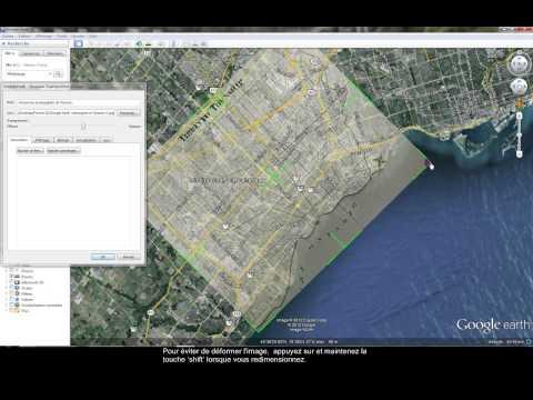 Ajouter superposition d'images dans Google Earth