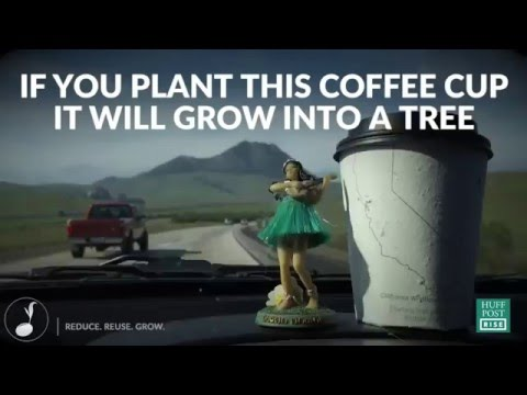 The World's First Plantable Coffee Cup
