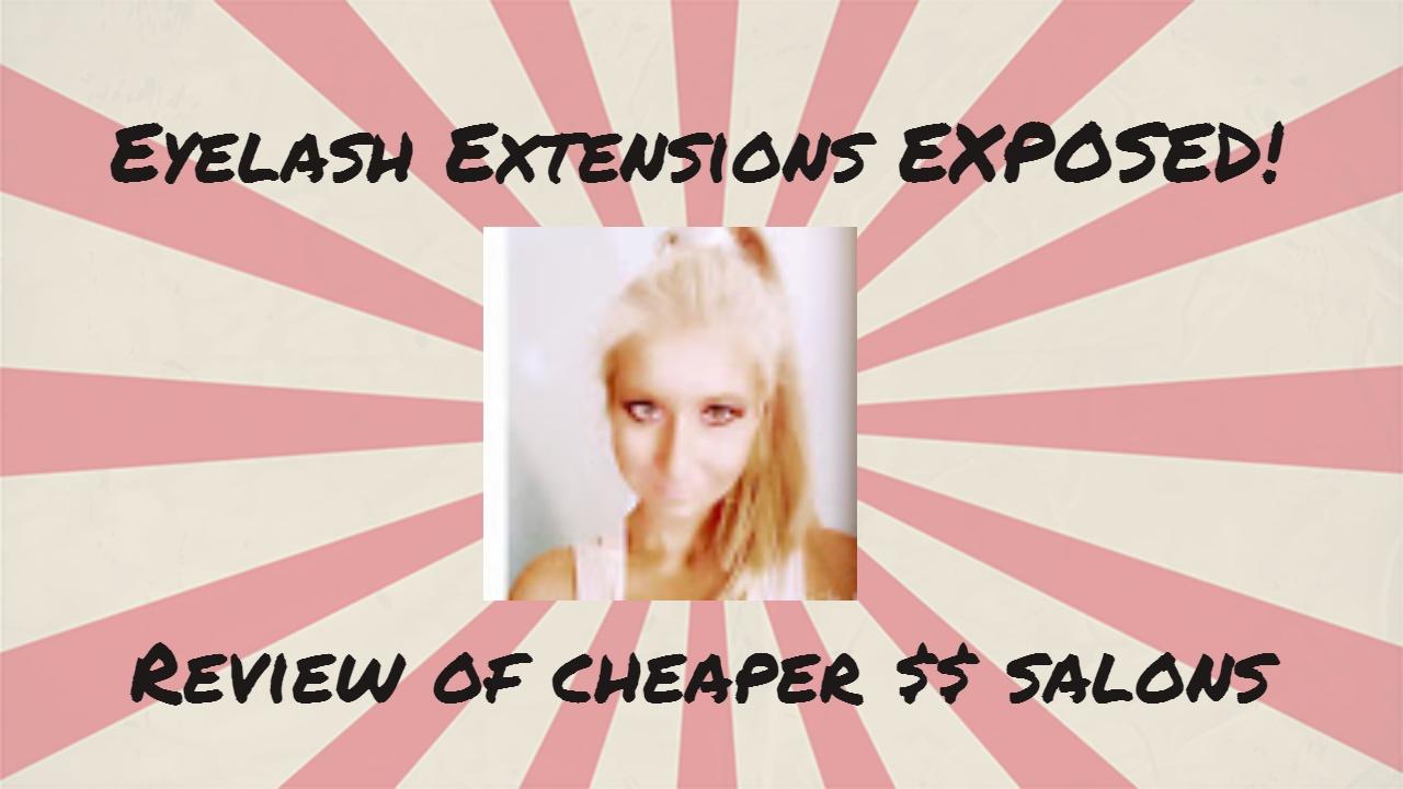 FAKE EYELASH EXTENSIONS SALONS EXPOSED:DaVi Nails and Seva Spa - YouTube