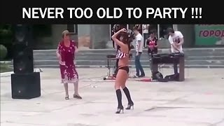 Never Too Old To Party (Old People Dancing Compilation)