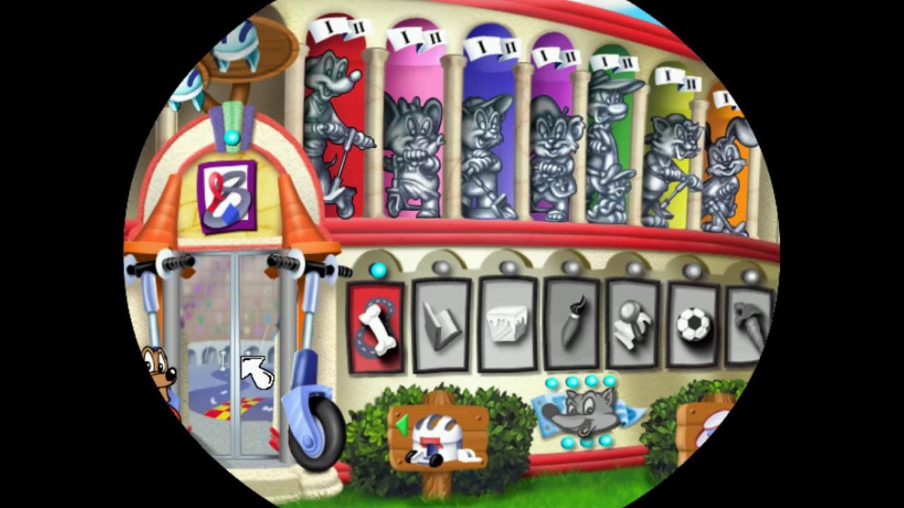 JumpStart Advanced 1st Grade Gameplay: Scooter Design Shop, Track Builder  Shop & The Race as Frankie