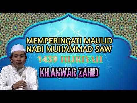 MONGGO DISIMAK !! Pengajian KH Anwar Zahid Di BuLan MauLid Nabi Muhammad SAW Terbaru