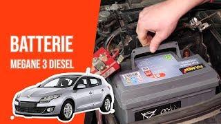 Changer la Batterie MEGANE 3 1.5 DCI 🔋