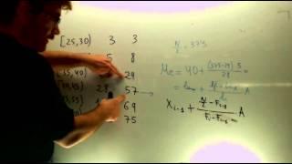 Mediana cuartiles Matematicas 1º Bachillerato Academia Usero Estepona