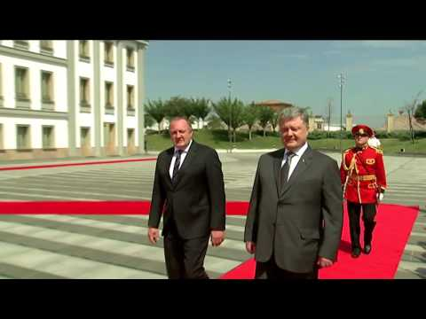 Meeting of Presidents of Georgia and Ukraine in Tbilisi