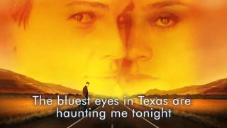 Nina Persson & Nathan Larson - The Bluest Eyes In Texas (Lyrics) (Boys don't Cry Soundtrack)
