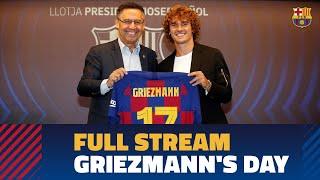 ⚽ Watch Online FULL STREAM Antoine Griezmann's presentation at Camp Nou