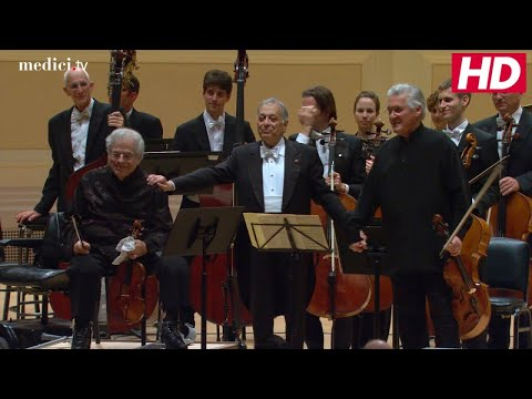 Zubin Mehta With Itzhak Perlman and Pinchas Zukerman - Mozart: Sinfonia concertante for Violin