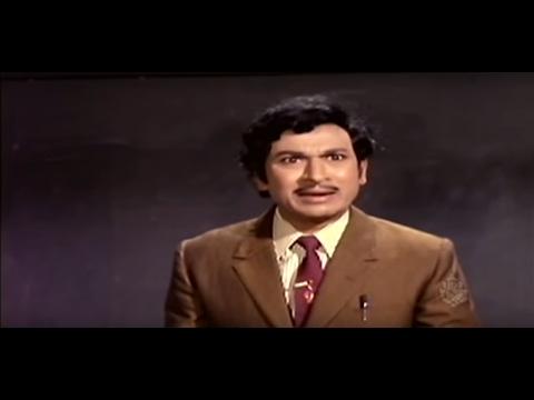 Dr Rajkumar College Professor Comedy Scene | Dari Thapida Maga Kannada Movie Scene