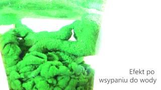 Hydrofobowy Piasek - wykonanie i prezezntacja