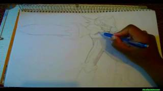 """Speed Drawing Megaman: """"Colonel Soul"""""""