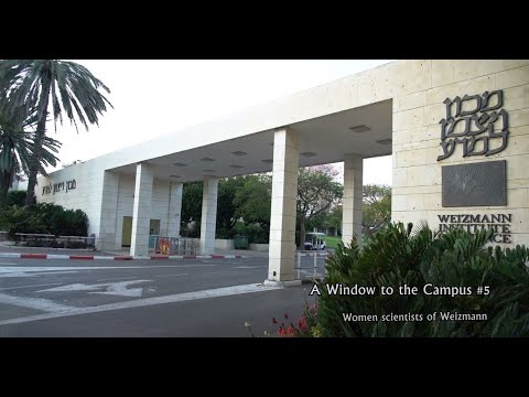 A Window To The Campus #5  - Women Scientists Of Weizmann