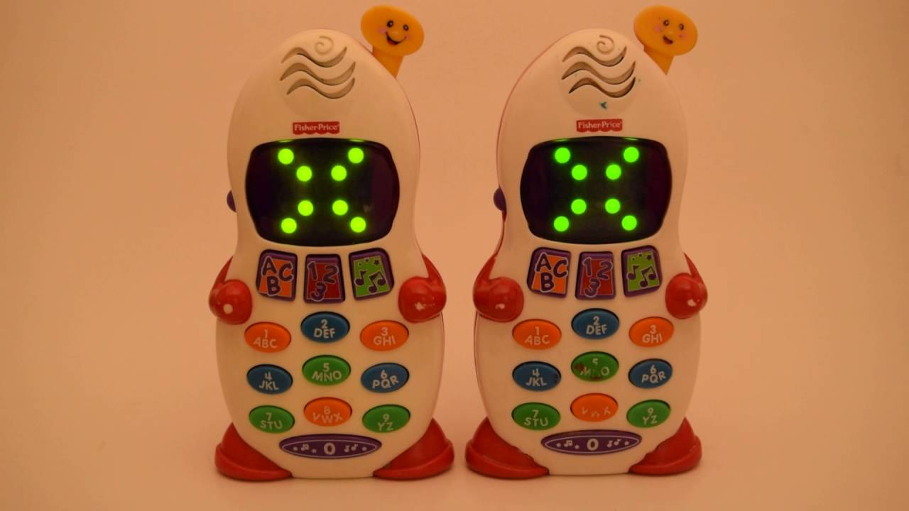 Fisher Price Laugh Learn Musical Toy Cell Phone For Baby Toddler Smart Mattel C6324 Take 2