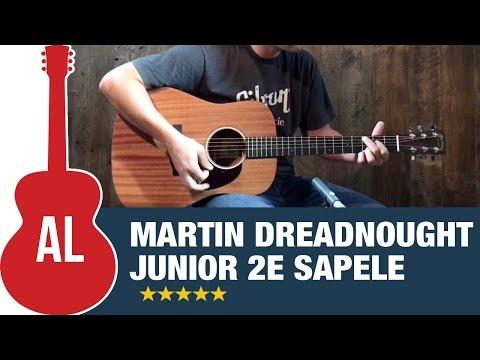 Martin Dreadnought Junior 2E Sapele