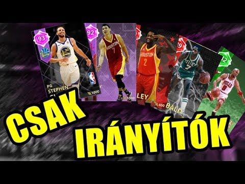 CSAK IRÁNYÍTÓK CHALLENGE | NBA 2K18